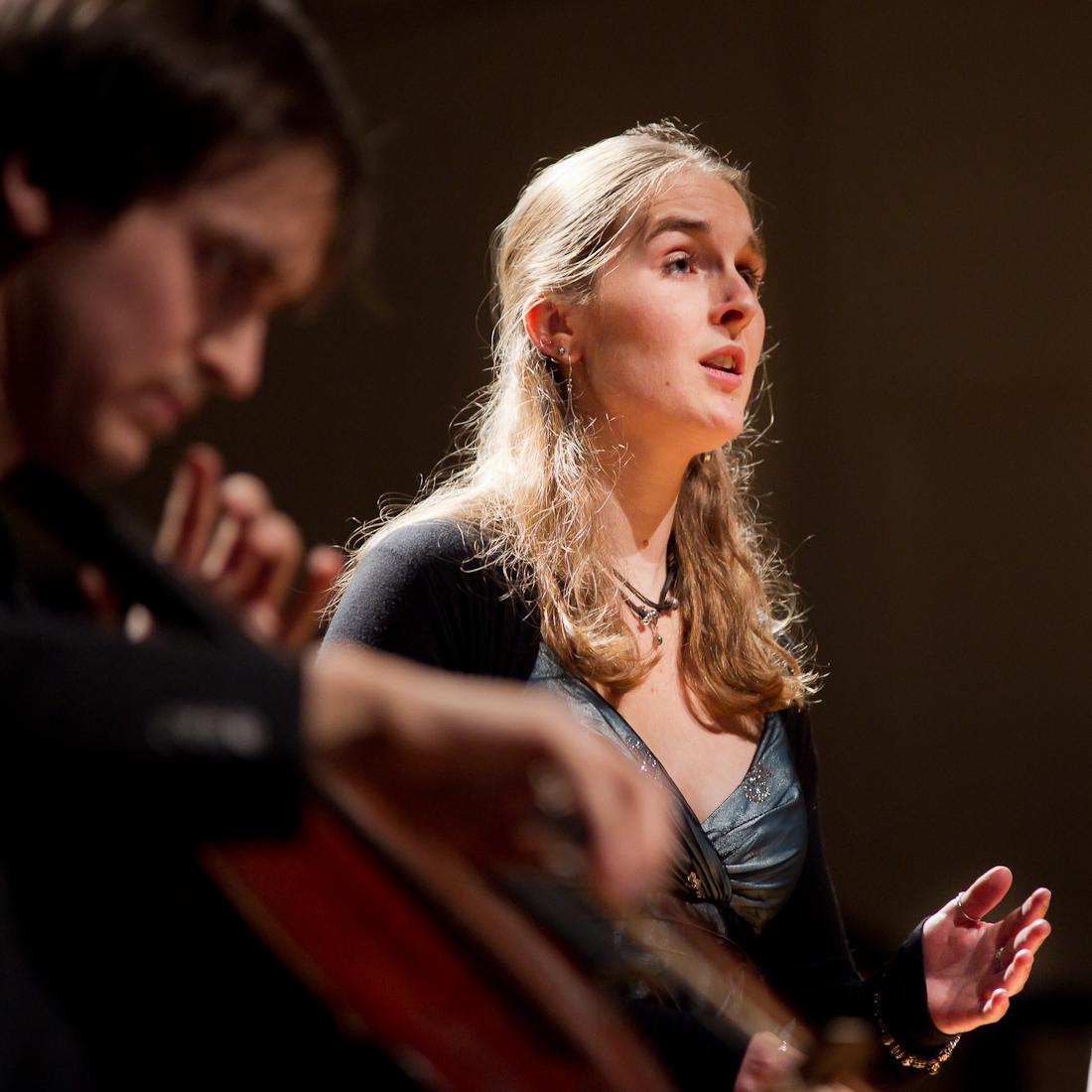 Met cellist Remco Woutersen. Foto door Rijn Buve.